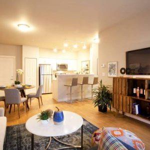Model Unit living area
